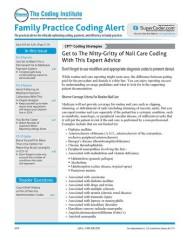 Family Practice Coding Alert magazine subscription
