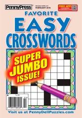 Favorite Easy Crosswords magazine subscription